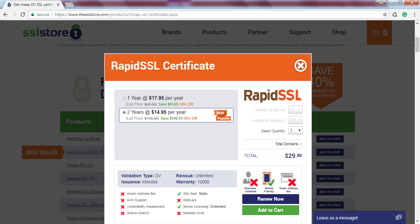 Buy An Ssl Certificate