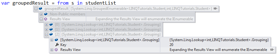 Groupby Tolookup Grouping Operator