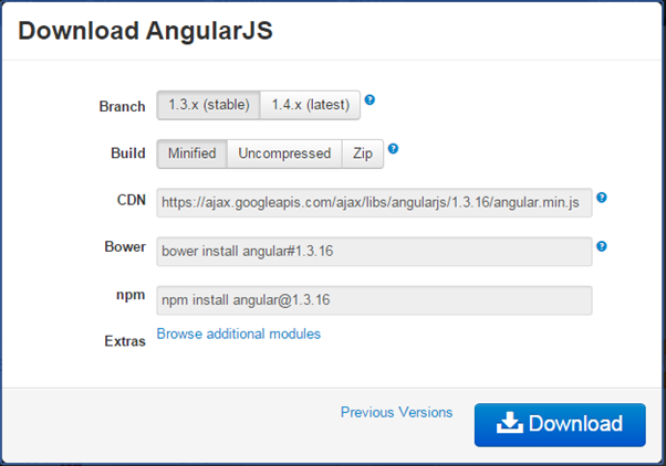 Setup AngularJS Development Environment