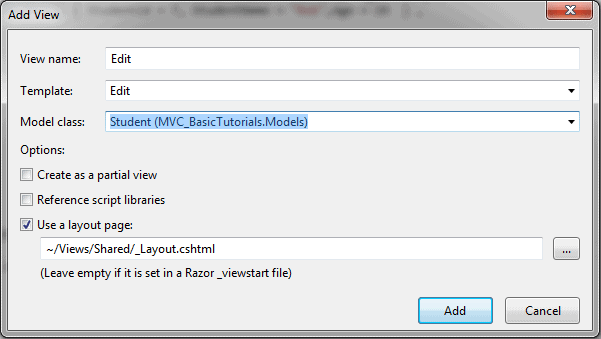 Validation in ASP NET MVC