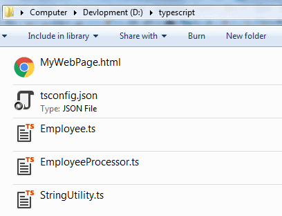 Compile TypeScript Project